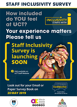 Inclusivity survey - English poster